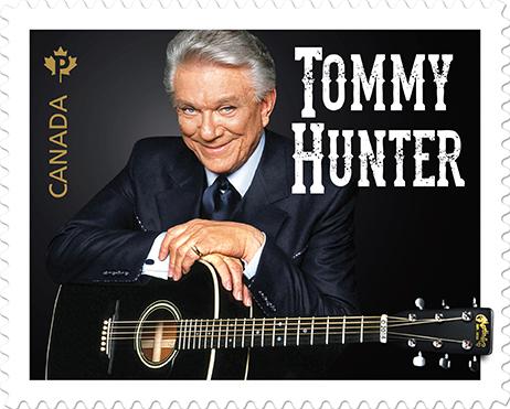 Tommy Hunter Stamp